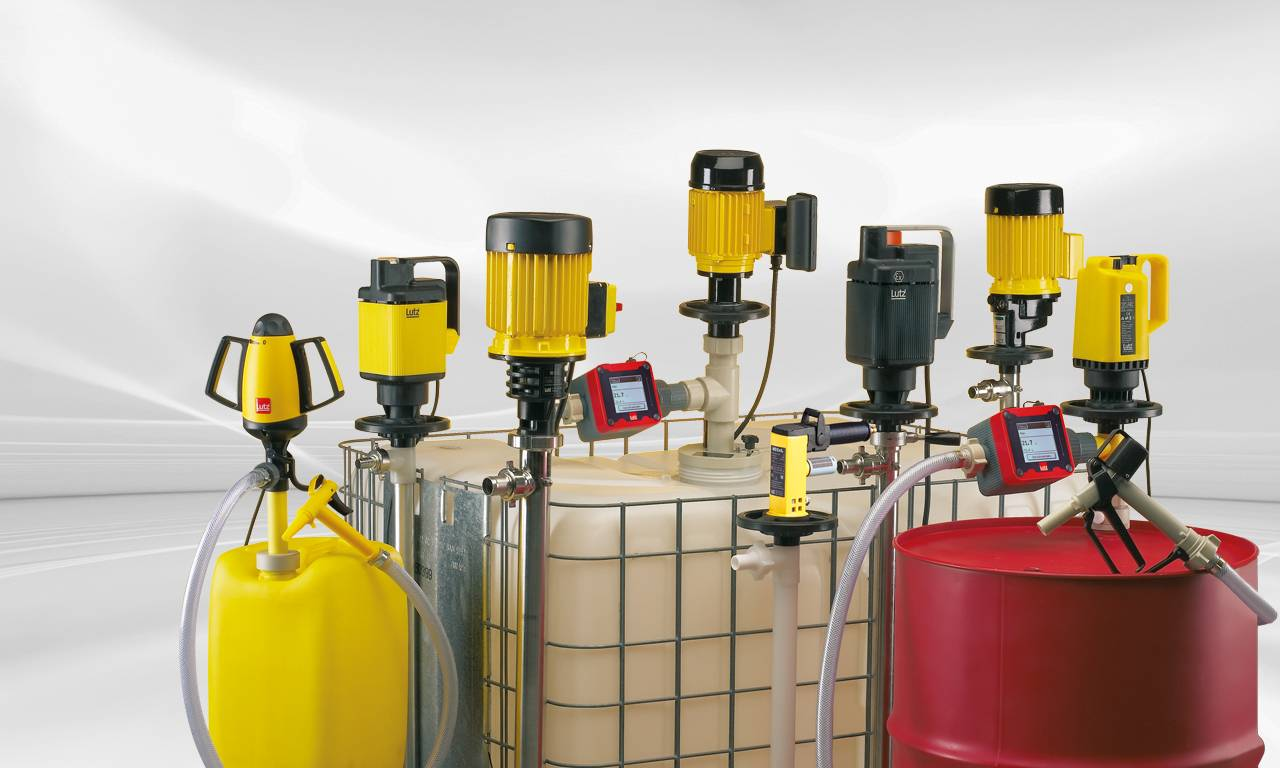 Drum And Container Pumps Products Lutz Usa