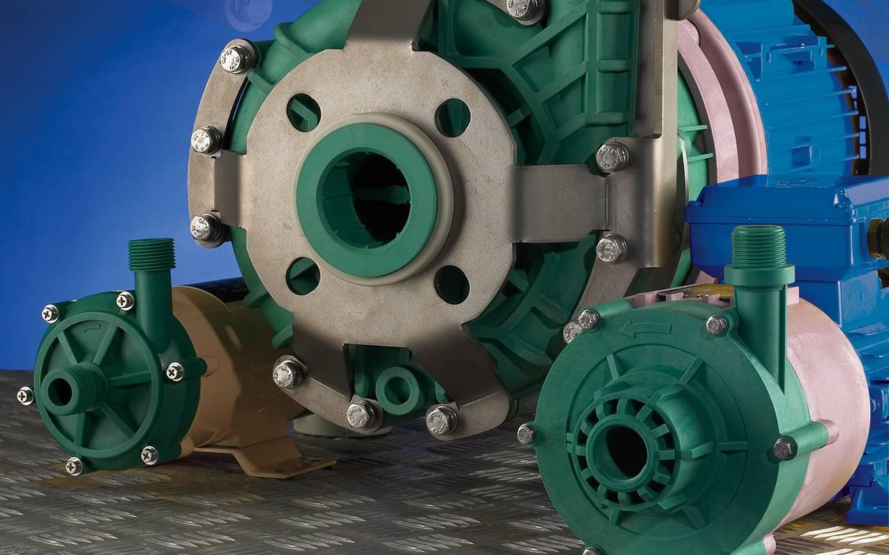 Lutz Kreiselpumpen | Verschieden große Magnetkupplungspumpen