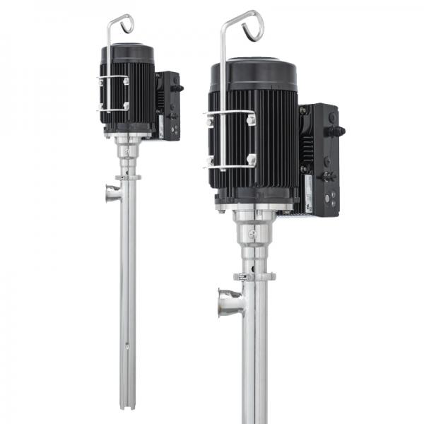 Eccentric screw pump B70V SanitaryPlus (with three-phase motor)