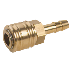 Hose coupling for compressed air hose DN 13