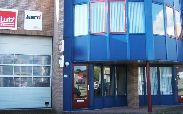 Lutz Pumpen Niederlassung: Lutz Pompen, Niederlande, Firmengebäude in Ridderkerk