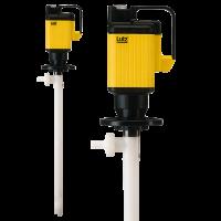 Lutz Pumpen | Elektrische Fasspumpe PVDF mit Universalmotor MA für hochkorrosive Chemikalien