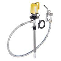 Lutz Pumpen | Elektrische Fasspumpe, IBC Pumpe mit Schlauch und Zapfpistole für Öl, Diesel