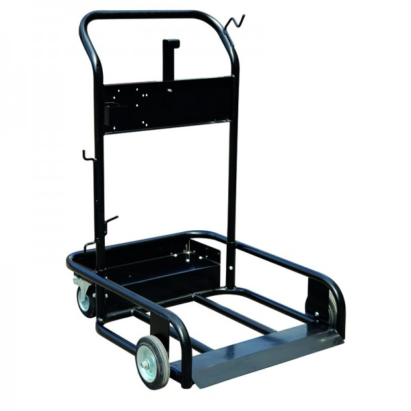 Trolley for steel- and plastic drums