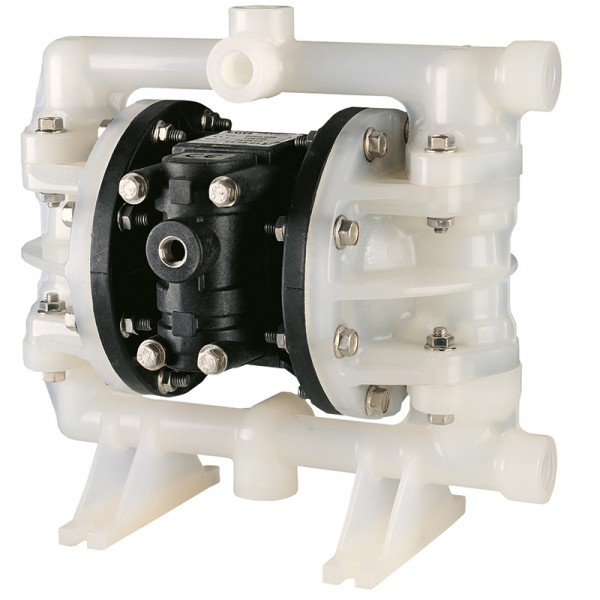 "Double diaphragm pump 1/2"" made of PVDF (PTFE version) (bolted version)"