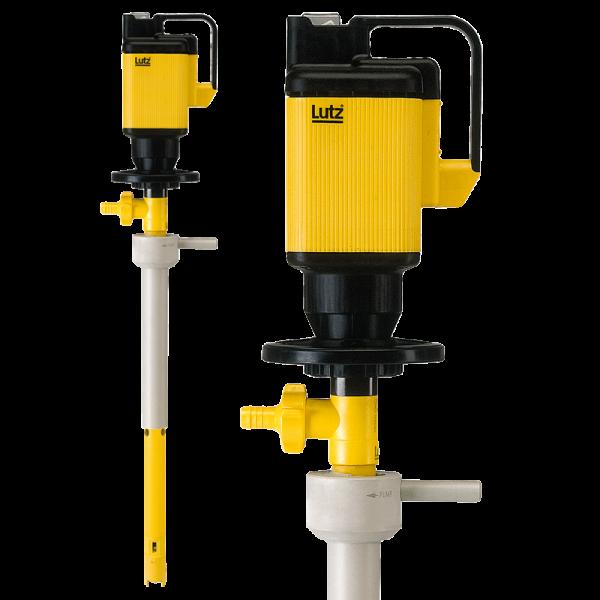 Lutz elektrische Fasspumpe MP-PP mit Universalmotor MA zum Mischen und Pumpen, für Emulsionen