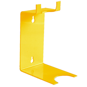 Wall bracket for drum pumps with Lutz hand wheel