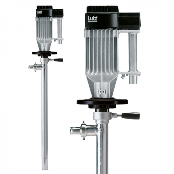 Drum pump RE88-SS with motor ME I 6 (Ex) Silver Star