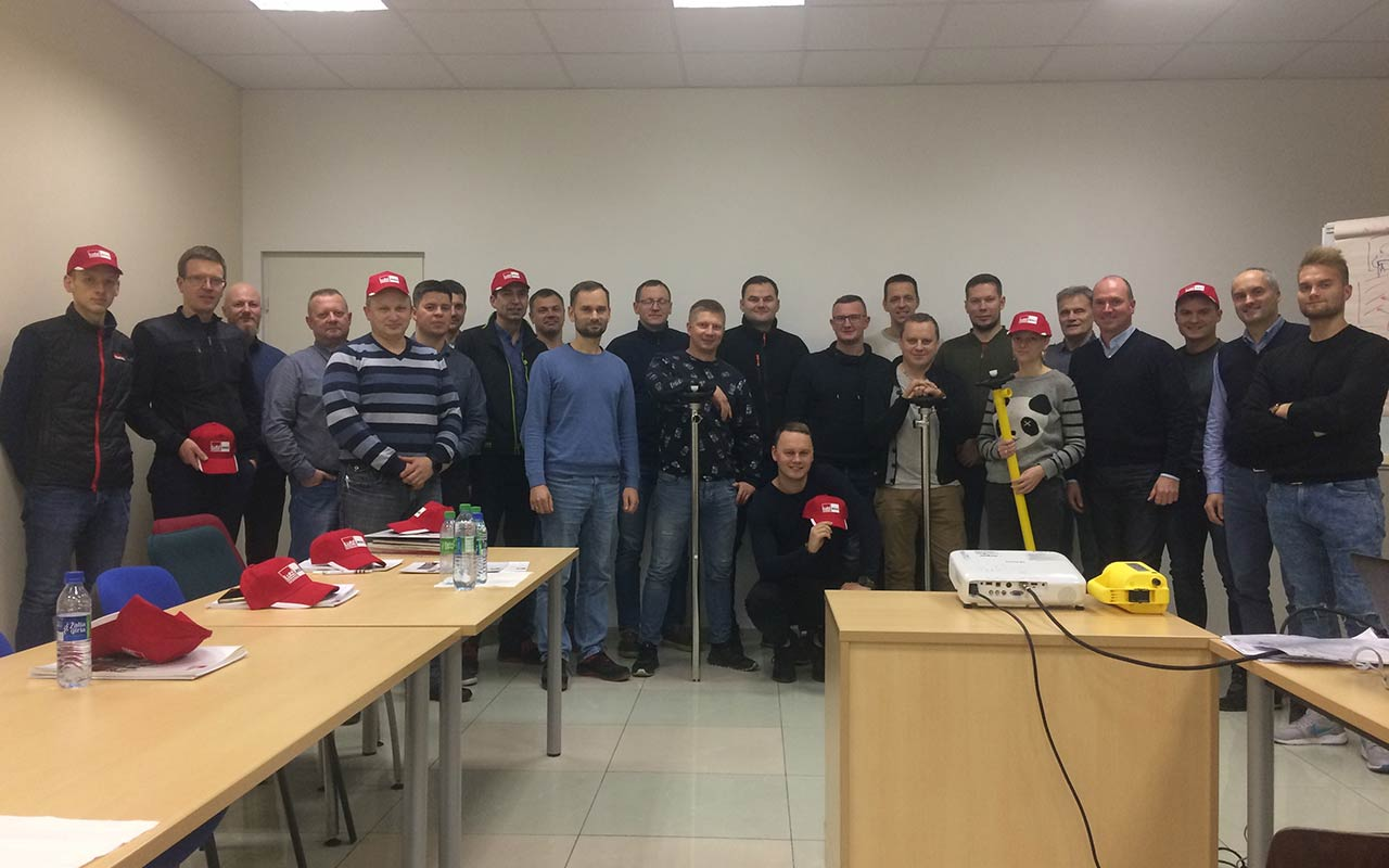 Our product training in Lithuania is successfully completed
