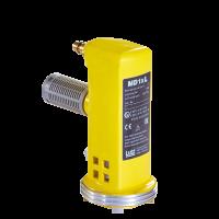 Lutz Druckluftmotor MD1xL 1000 W, für Fasspumpen (pneumatisch), hohe Leistung, hoher Wirkungsgrad