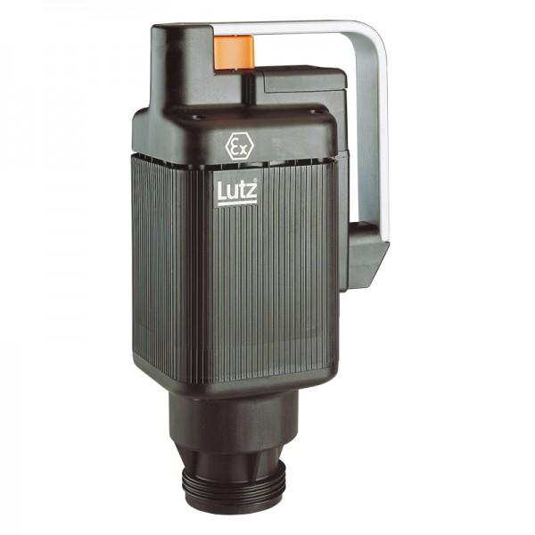 LUTZ Elektromotor ex-geschützt | Universalmotor für Fasspumpe, 460 W mit Unterspannungsauslöser