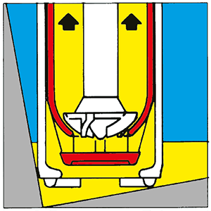 Funktion Fasspumpe zur Restentleerung | Verschlusstopf offen