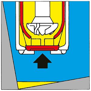 Funktion Fasspumpe zur Restentleerung | Verschlusstopf geschlossen