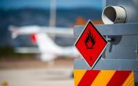 Tank trucks with dangerous goods plate class 3 - flammable liquids