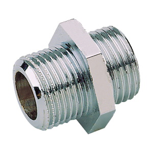 Reducing connector made of stainless steel (product side) for DMP 3/8""