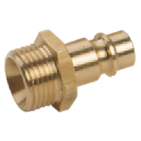 Nipple (male part) for compressed air supply