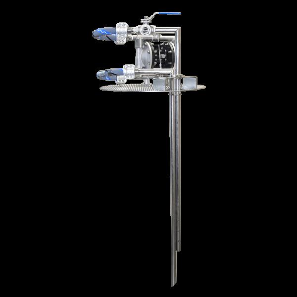 Membranpumpen-Mischsystem zum Mischen und Pumpen