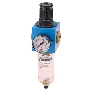 Filter pressure regulator