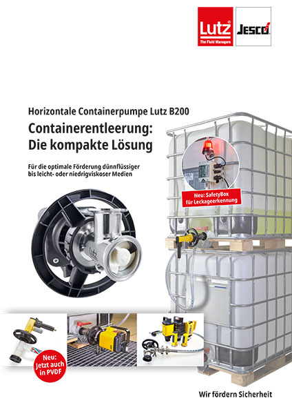 Prospekt IBC Pumpen B200