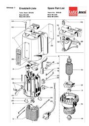 Titelblatt einer Explosionszeichnung des Universalmotors MI-4