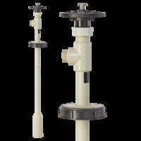 LUTZ Elektrische vertikale Containerpumpe B50, IBC Pumpe für Containerentleerung von oben
