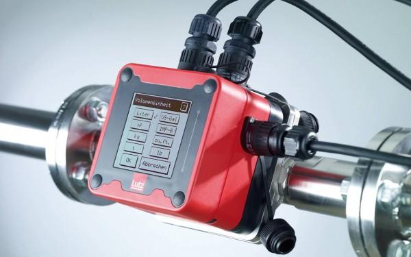 Durchflussmesser mit Touch-Screen | Zähler für Anlagenbau, Chemie, Lebensmittel, Diesel, Öl