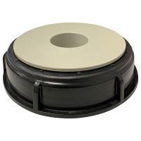 Screw cover, container cap PE/PP for container pump B50