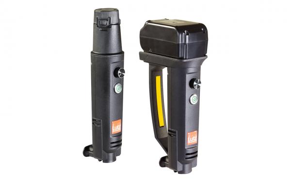 Motor B1 Battery und B2 Battery mit Drehknopf und Haltegriff