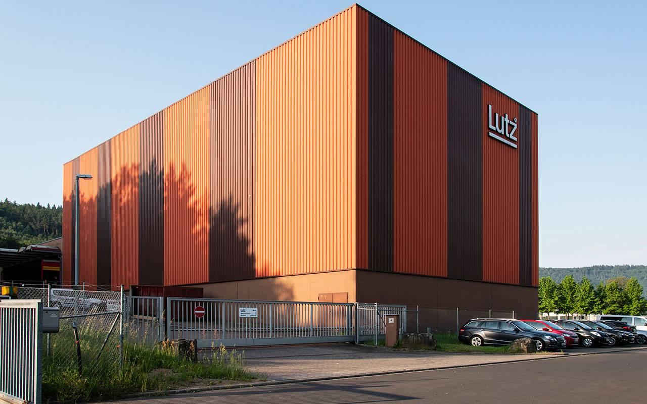 Firmengebäude Lutz - Produktion, Hochregallager Am Stammholz in Wertheim