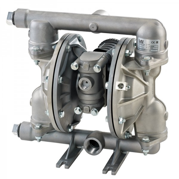"Double diaphragm pump 1"" made of stainless steel (PTFE version) (bolted version)"