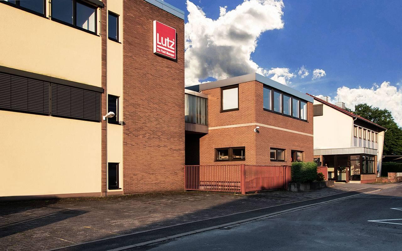 Firmengebäude Lutz - Standort Erlenstraße in Wertheim