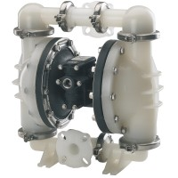 """Double diaphragm pump 1 1/2"""" made of PP (bolted version)"""
